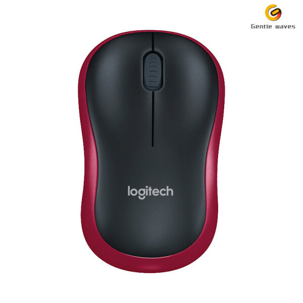 Logitech M186 Mouse Optical Ergonomic 2.4GHz Wireless USB Hands Opto-electronic Mice Office Mouse Home for 1000DPI Both Malaysia