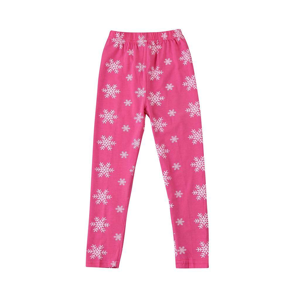 1f91b523f05 Stonershop Toddler Baby Girls Pencil Pants Kids Cute Snow Print Leggings  Clothes