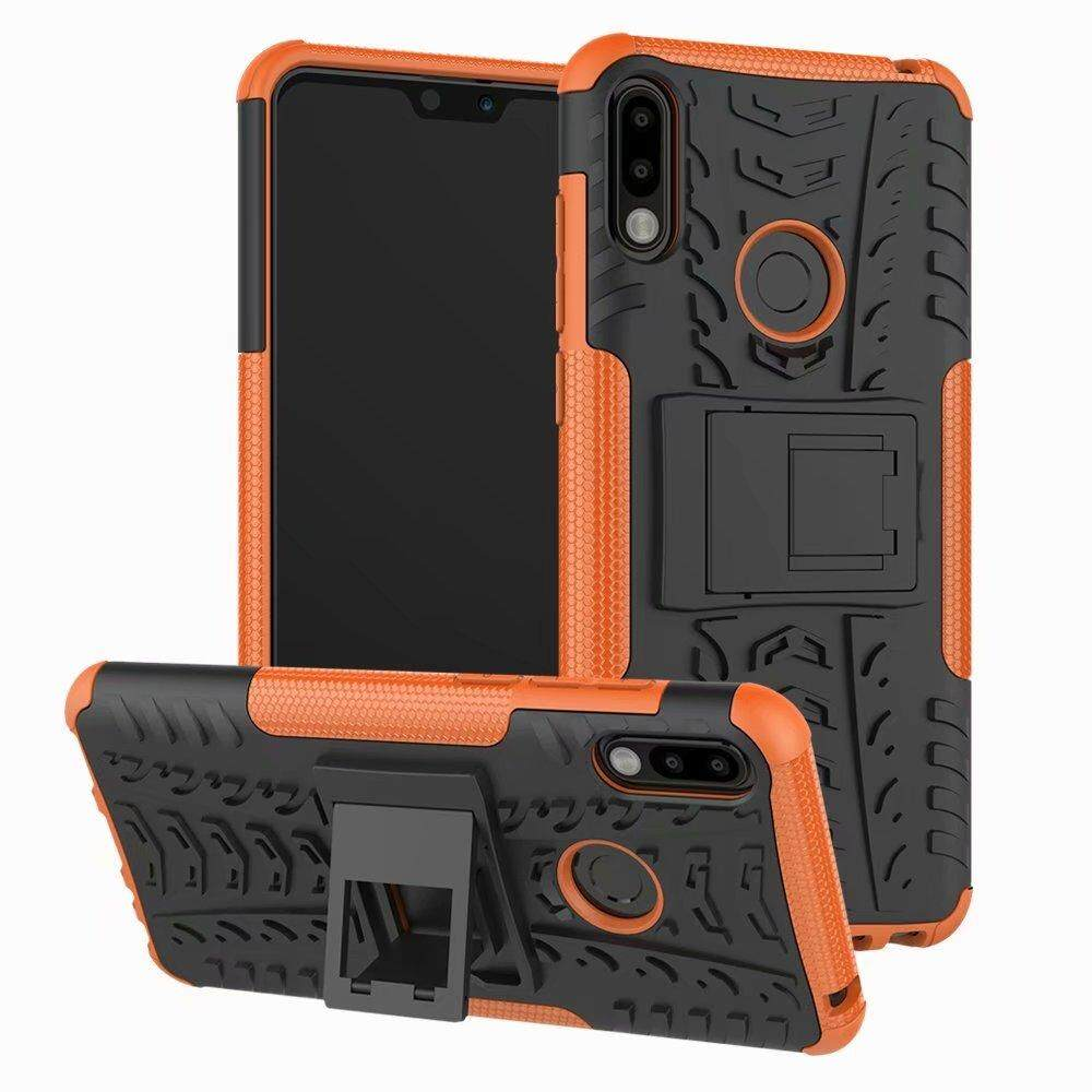 For ASUS ZenFone Max Pro (M2) ZB631KL Case Hard TPU+PC Armor With