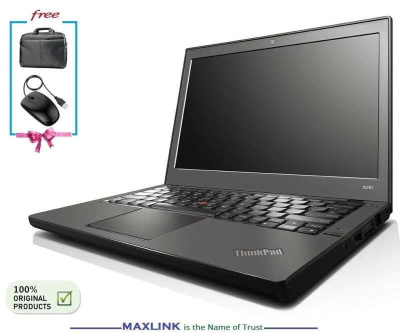 LENOVO ThinkPad X240 Business Laptop - CORE i5-4TH GEN / 4GB RAM / 128GB GRADE A Warranty 1 Year [Import Australia] Malaysia