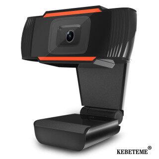 Webcam KEBETEME HD, Camera USB 480P 720P Camera Web Quay Video Xoay Được Kèm Micro, Dành Cho Máy Tính PC thumbnail