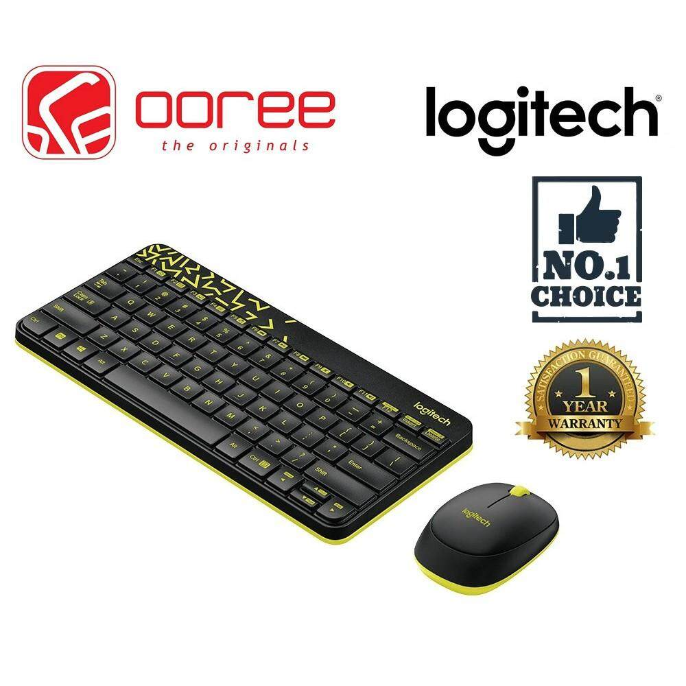 LOGITECH MK240 NANO WIRELESS KEYBOARD AND MOUSE COMBO COLORFUL AND COMPACT SPILL RESISTANT DESIGN Malaysia
