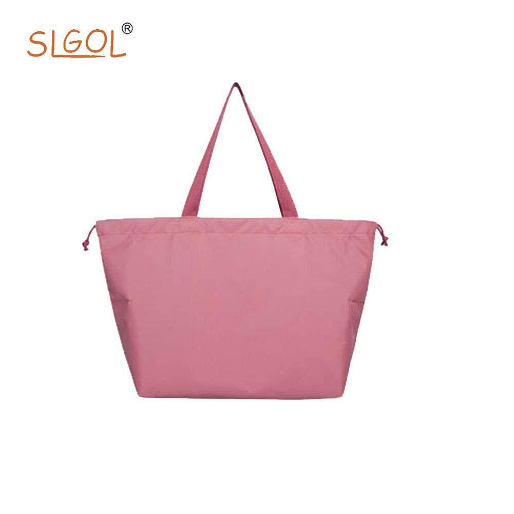 Waterproof Bundle Bag Travel Storage Bag Portable Nylon Drawstring Bag For Clothing Finishing fitting ingenious fashion By SLGOL