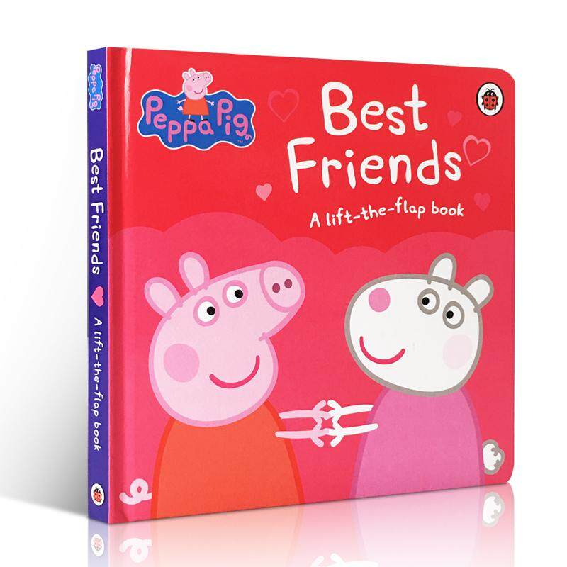 English Childrens Books Peppa Pig Best Friends 2-3-5-6 Years Old Preschool Kindergarten Early Education Picture Books
