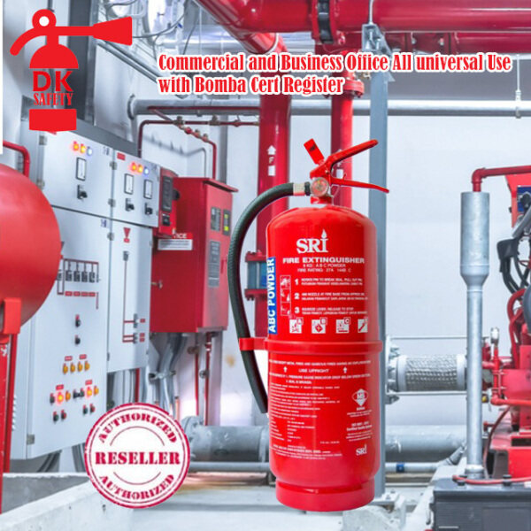 DK Safety Fire Extinguisher 9KG Dry Powder  & Suitable for office and house