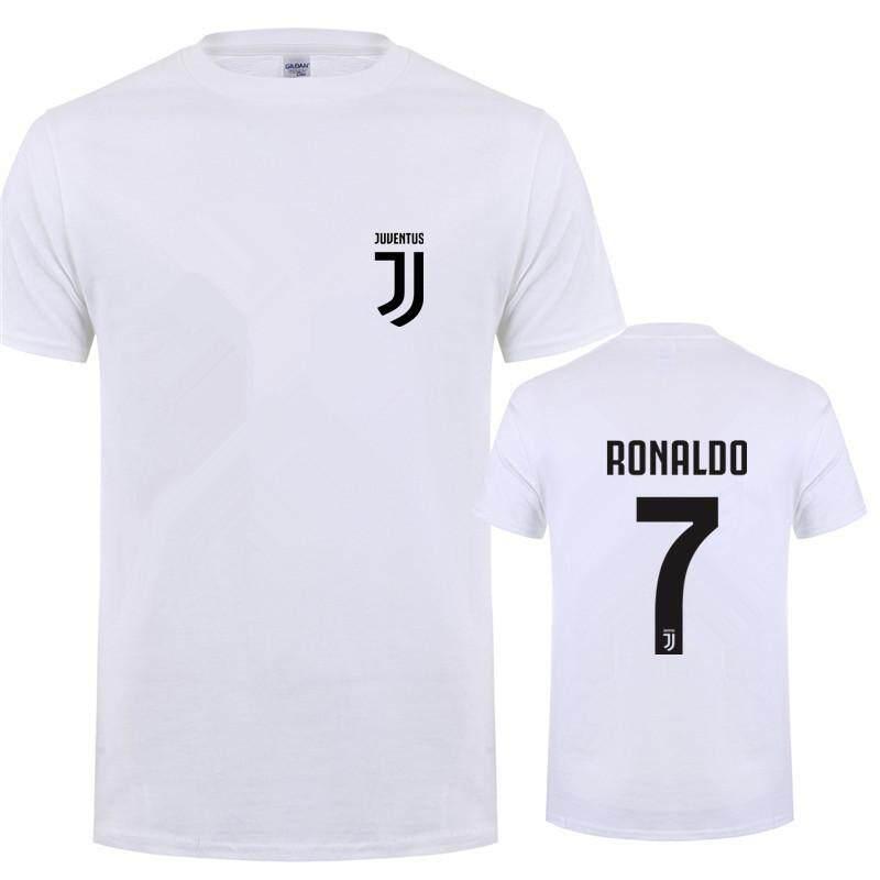 the best attitude 48538 5af12 New Fashion Cristiano Ronaldo T Shirts Tops Men Short Sleeve Cotton Men CR7  T-shirt