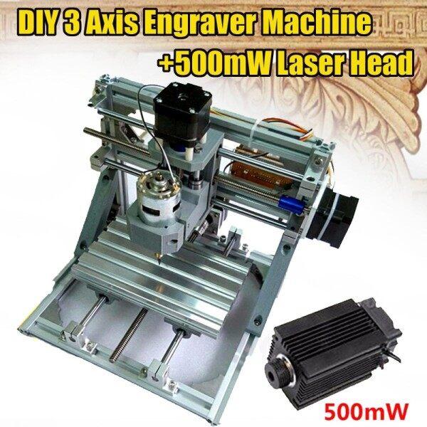 Giá Máy Bào CNC 12V 3 Trục & Máy Phay Laser 500 MW Máy Phay PCB Khắc Gỗ
