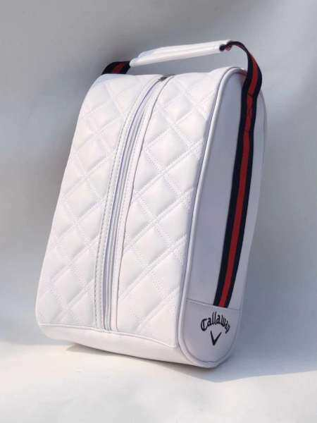 Túi Đựng Giày Chơi Golf Cho Nam Và Nữ, Túi Đựng Giày Tiện Lợi, Dễ Mang Theo, Chất Liệu Vải PU, Chống Thấm Nước