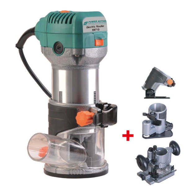 POWER ACTION Electric Router ER710