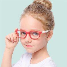 【DayDay Shop】Baby Anti-Blue Light Silicoe Glasses Children soft hù ce Brand Đồ chơi Bảo vệ tinh trang Trẻ em Mắt kính ánh mắt trang thái