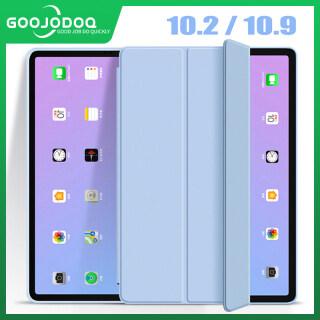 GOOJODOQ iPad Trường Hợp Cho iPad Không Khí 4 10.9 Silicon Mềm Bao Gồm Tất Cả Bảo Vệ Shell Đối Với New iPad 2020 iPad Air 4 10.9Inch Hỗ Trợ Không Dây Sạc thumbnail