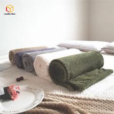 LoveBox 1 Cái Siêu Mềm Ấm Chăn Flannel Sofa Văn Phòng Trẻ Em Chăn Khăn Du Lịch Lông Cừu Di Động Chăn