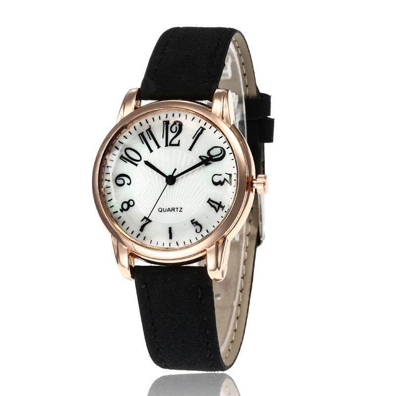 Asport Casual Quartz Watch Women Small Round Dial PU Leather Band Wristwatch. Malaysia