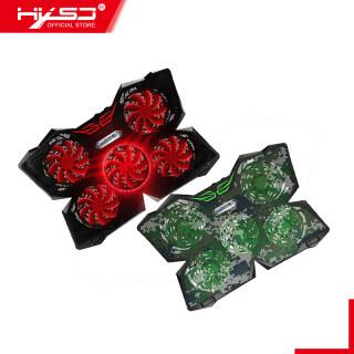 HXSJ Chơi Game Mát Máy Tính Xách Tay Tấm Làm Mát Với 5 Quạt LED, Dành Cho Máy Tính Xách Tay 12-17 thumbnail
