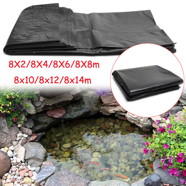 HDPE Rubber Fish Pond Liner Impermeable  Geomembrane 8*2M-14M