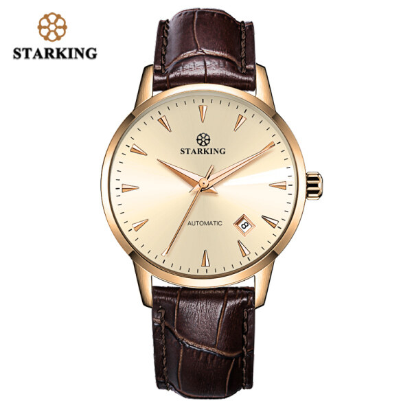 STARKING Mechanical Watch Men Miyota Movt Stainless Steel Wristwatch Sapphire Automatic Self-wind Men Watch Relogio 3ATM AM0171 Malaysia