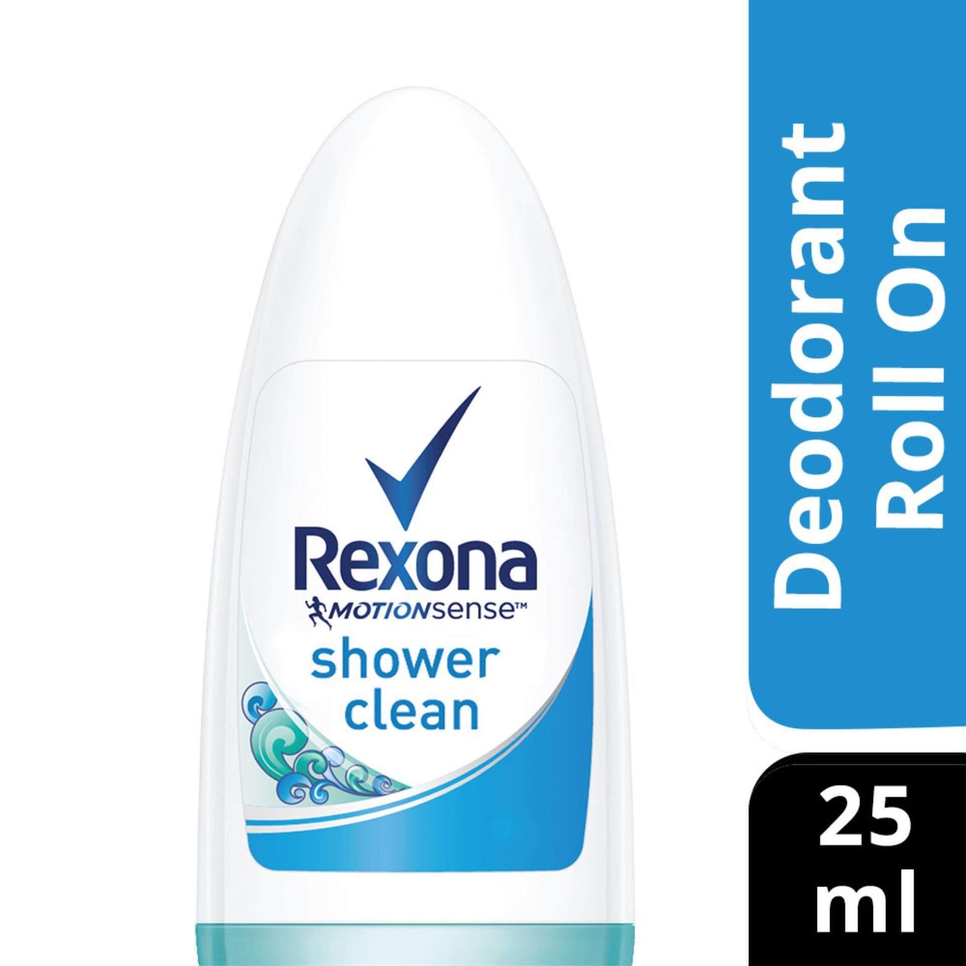 0c8bb4d40 Rexona Women Shower Clean Roll On Deodorant 25 ml