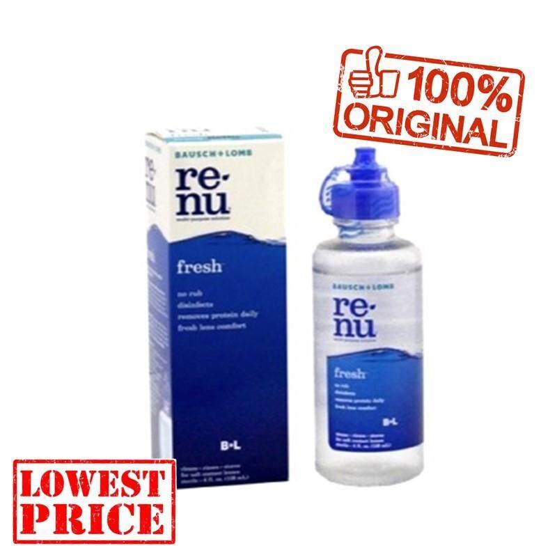 Malaysia. Renu Fresh 355ml (Big Size) Bausch   Lomb Multi Purpose Solution 8ef897da0b
