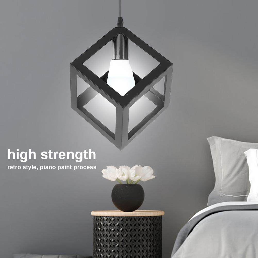 New Arrival E27 90-250V Modern Simple Ceiling Light Iron Cage Fixture Pendant Lamp for Study Bar Hallway