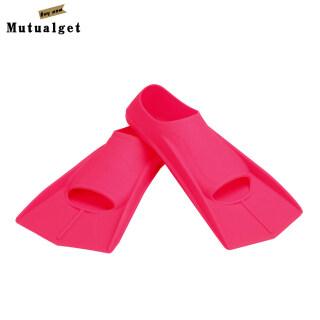 Cặp Chân Chèo Mutualget-1, Vây Chân Silicon Mềm Bơi Lướt Sóng Lặn Với Ống Thở thumbnail