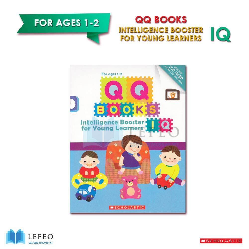 SCHOLASTIC - QQ BOOKS : Boost Your Child'S IQ!: Ages 1 & 2 / English Books