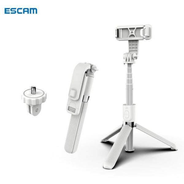 Gậy chụp ảnh tự sướng ESCAM L03 kết nối bluetooth không dây kèm giá 3 chân thích hợp quay vlogtripod điện thoạichân đỡ điện thoại - INTL
