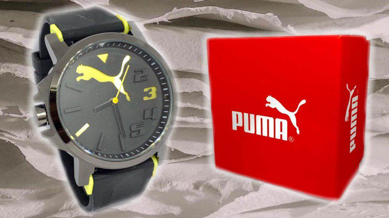 CLEARANCE SALE_PUMA_COUPLE & UNISEX SINGLE ANALOG_RUBBER STRAP WATCH SET FOR COUPLES FASHION SPORTS WATCH WITH FREE GIFT BOX GURRENTED CHEAP PRICE Malaysia