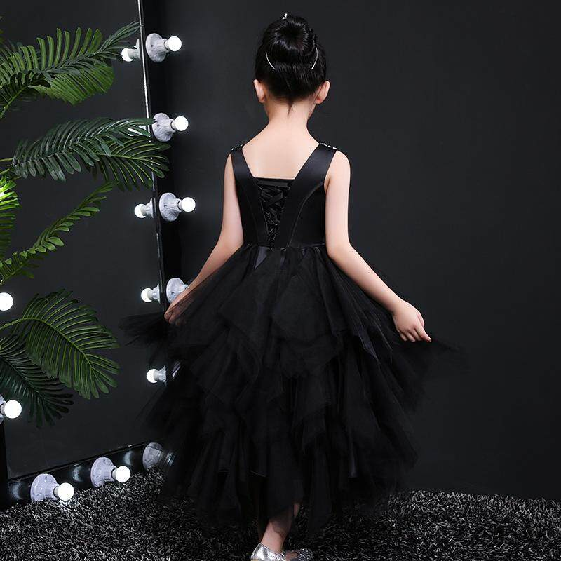 6432fcb877 Girl s evening dress Cuhk children s wedding gown Bitter fleabane bitter  fleabane skirt Children s costume