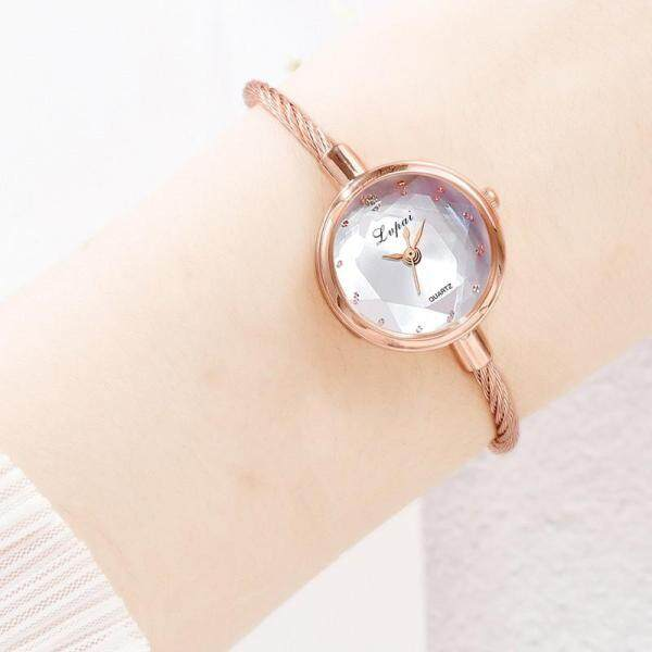 SF LVPAI Fashion Adjustable Women Bracelet Watch Alloy Strap Shiny Luxury Ladies Quartz Wristwatch Malaysia