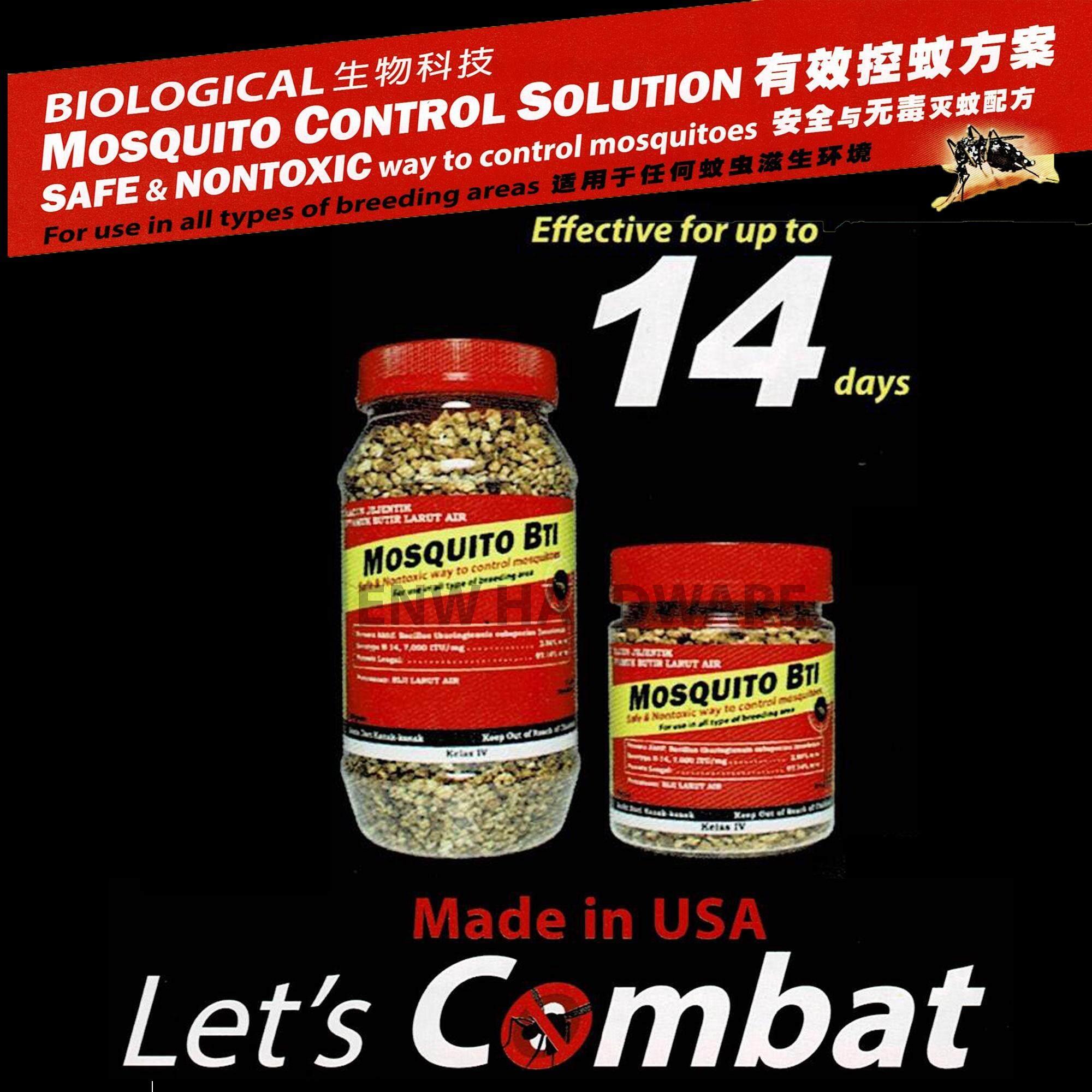 Non-Toxic Biological Mosquito Control Solution-Mosquito BTI 250gm
