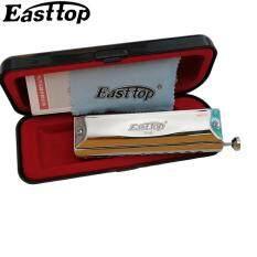 Easttop Kèn Ác Mô Ni Ca Chromatic 10 Lỗ Chromatic Harp Kèn Ác Mô Ni Ca Cụ Key C ABS Comb Nhạc Cụ T1040
