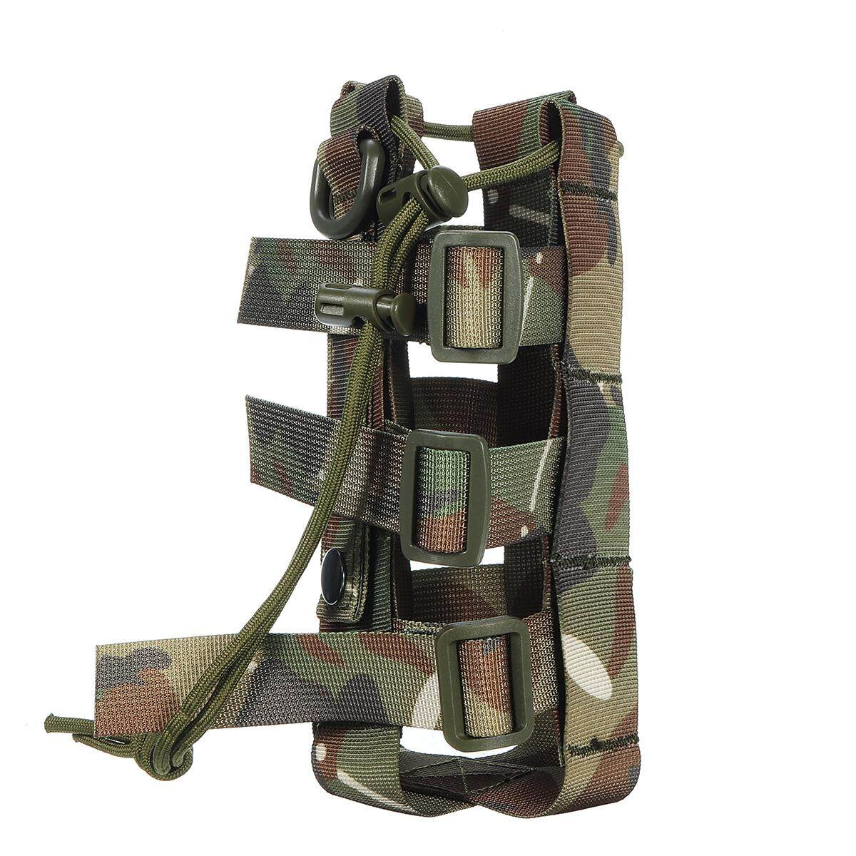 Outdoor Tactical Military Camping Wine Water Bottle Bag Kettle Pouch Holder