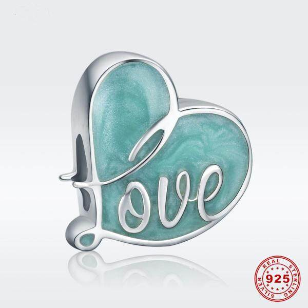 925 pure silver jewelry ocean heart series can be made bracelets & necklaces
