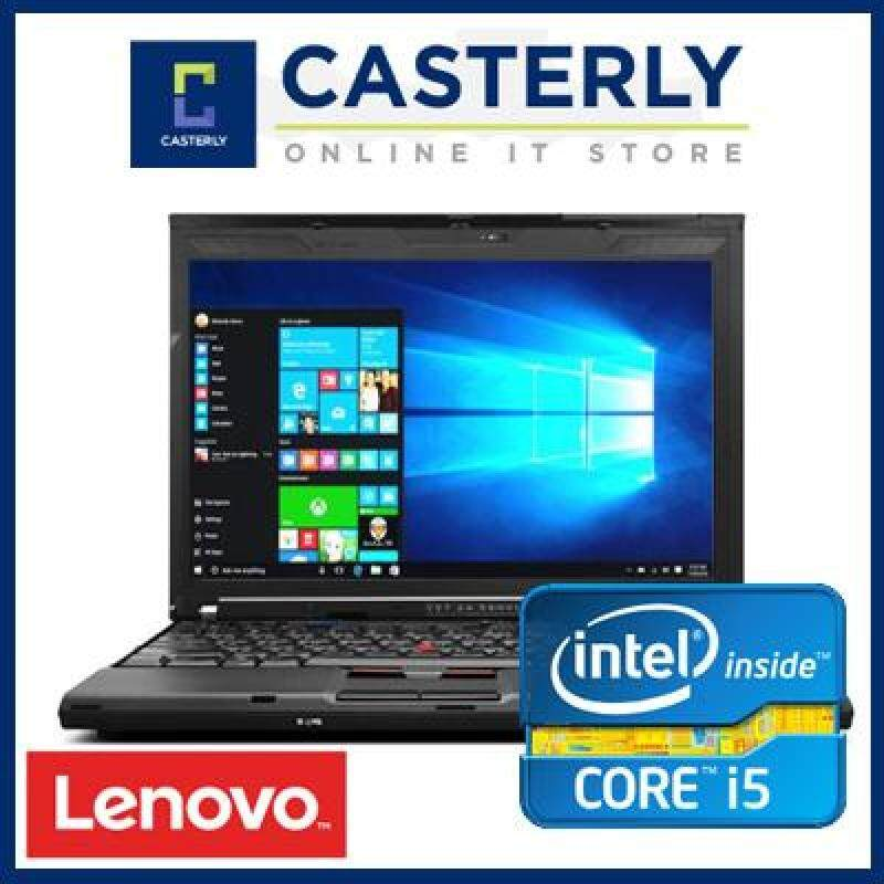Refurbished Lenovo Thinkpad X201 / Intel Core i5 / 8GB RAM / 128GB SSD / Windows 7 / One Month Warranty Malaysia