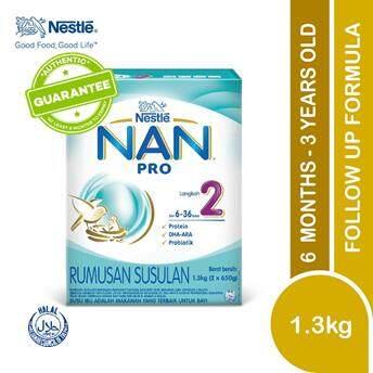 Nan Pro 2 Follow Up Formula (6 -36 Months) 1.3kg X 1 By Lazada Retail Nankid.
