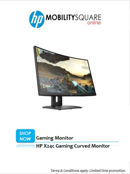 HP X24c Gaming Curved Monitor Malaysia