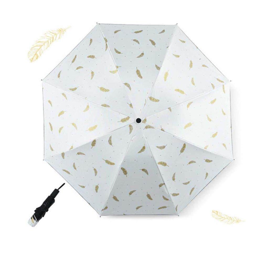 Allwin Portable Anti-UV Pocket Feather Umbrella Women Umbrellas Sunscreen Parasol