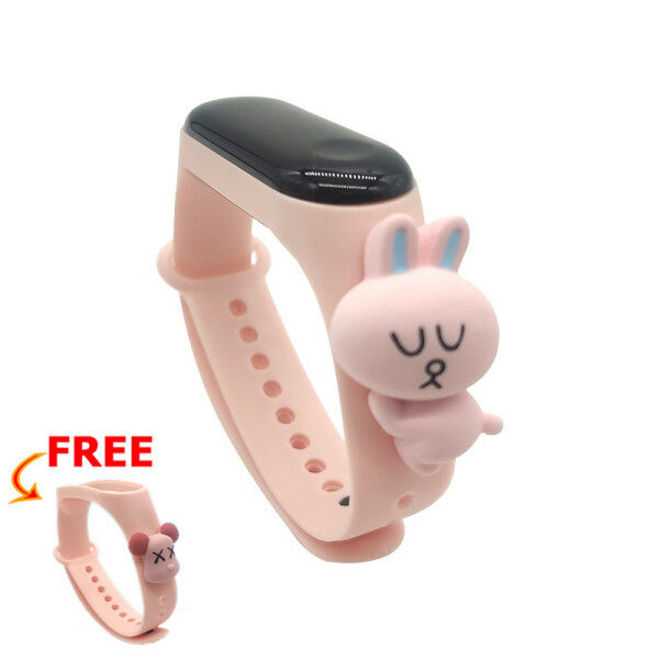 [Get 1pcs Starp] NXZ Cartoon Student Waterproof Watch Calendar Countdown Childrens Wtach Boys Girls Digital LED Electronic Casual Sports Watches Malaysia