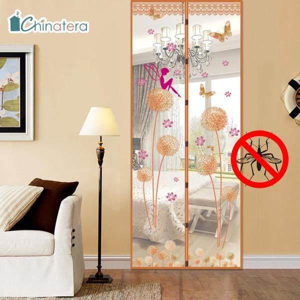 [Chinatera] Rèm Cửa Từ Tính Mùa Hè 90X210Cm Màn Hình Cửa Chống Côn Trùng Rèm Chống Muỗi Vải Tuyn Cho Nhà Bếp Phòng Ngủ