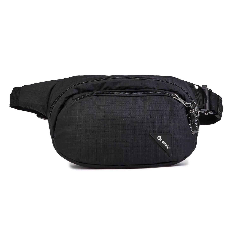 NWT Pacsafe Vibe 200 Anti-Theft Compact Travel Bag Dark Berry