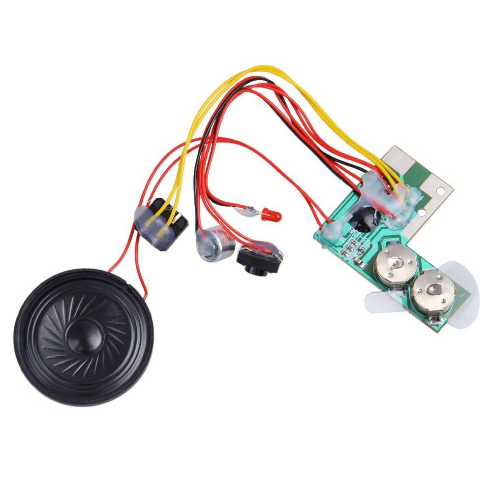 〔questionno〕10secs 10s Sound Voice Audio Recordable Recorder Module Chip for Card New