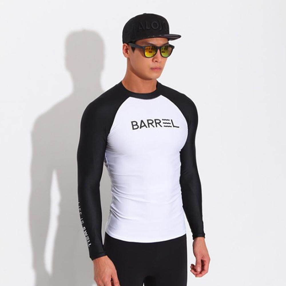 6cd0a940b9 Men\'//s Long Sleeve Rashguard Quick-dry UPF 50+ Swim