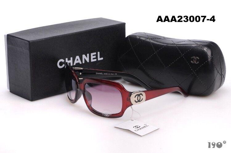 Chanel_fashion sunglasses simple comfortable frame 23230