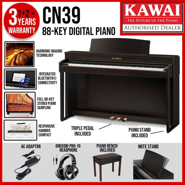 (Brand New) Kawai CN Series CN-39 Digital Piano - Rosewood (CN39 / CN 39) Malaysia
