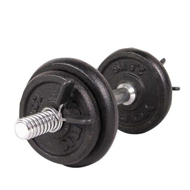 Kincaidstore-2pcs 25mm Barbell Gym Weight Bar Dumbbell Lock Clamp Spring Collar Clips By Kincaidstore