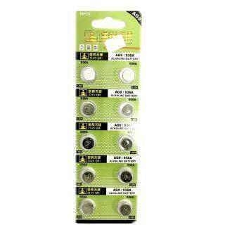 TIANQIU AG9 SR936SW LR936 LR45 194 GP96A 394 1.5V Button Alkaline Battery (10 Pieces) ED: 2022