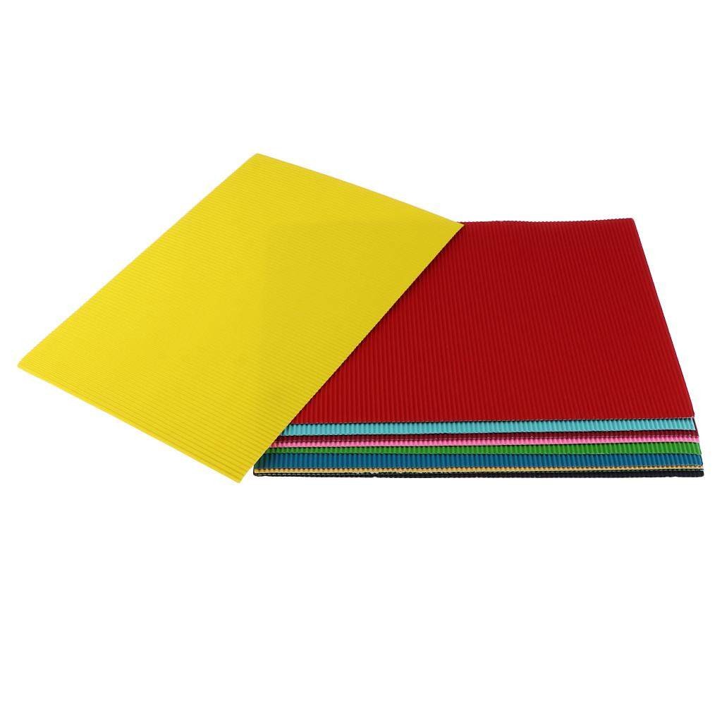 Mua BolehDeals 10x Tôn Giấy Cardboards Trẻ Em Mới Thủ Công Làm Cung Cấp 11.7x8.3 inch