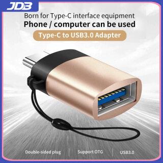 Bộ Chuyển Đổi JDB USB C OTG Bộ Chuyển Đổi Nhanh USB 3.0 Sang Type C Cho MacbookPro Xiaomi Huawei Bộ Chuyển Đổi USB Mini Bộ Chuyển Đổi Cáp OTG Type-C thumbnail