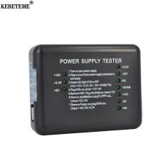 KEBETEME Bộ Kiểm Tra Nguồn Điện Ổ Cứng PSU ATX SATA 20/24 Pin Checker Meter Dụng Cụ Chẩn Đoán Chỉ Thị LED Đo, Thử Nghiệm Đối Với Máy Tính PC