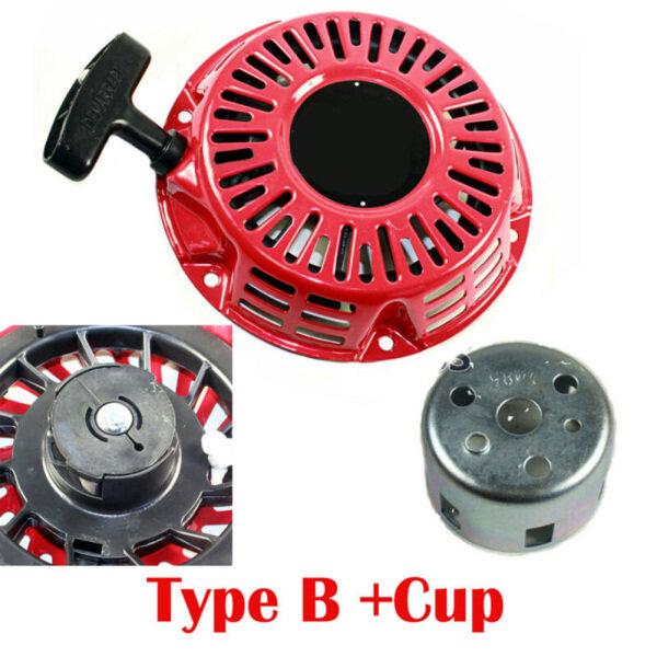 Kéo Khởi Động Giật Khởi Động Với Cốc Cho Máy Phát Điện Honda GX160 GX200 5.5HP/6.5HP